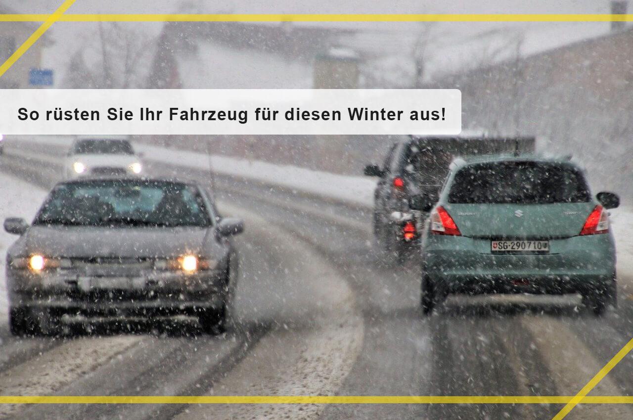 So rüsten Sie Ihr Fahrzeug für den Winter aus – sorgenfrei ins Jahr 2020 fahren!